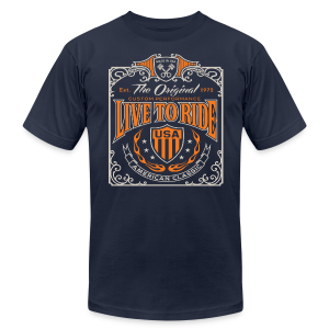 Live to Ride - Men's Fine Jersey T-Shirt