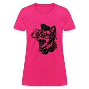 punk cat womens - Women's T-Shirt
