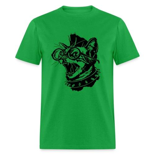 punk cat unisex - Men's T-Shirt
