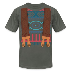 Wandering Oaken's Sweater and Suspenders - Men's T-Shirt by American Apparel