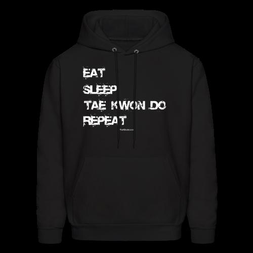 Eat Sleep Tae Kwon Do Repeat - TD - Hoodie Front - Men's Hoodie