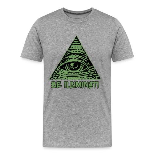 Camiseta Be Illuminati - Men's Premium T-Shirt