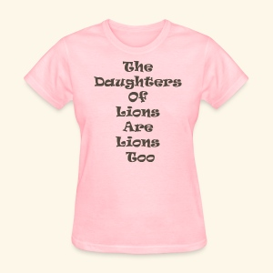 Lions Too - Women's T-Shirt