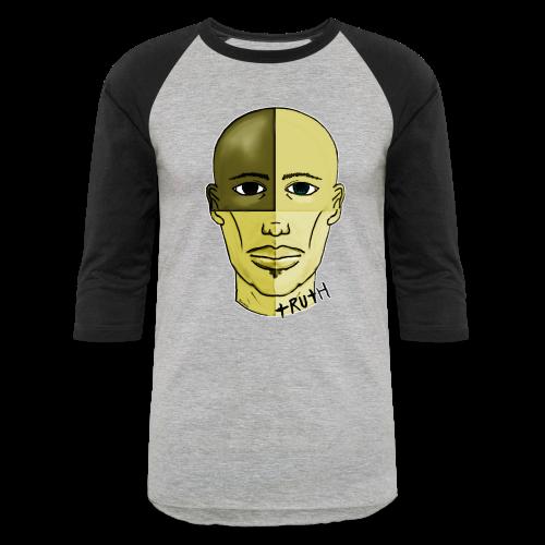 Face 3/4 Shirt - Baseball T-Shirt