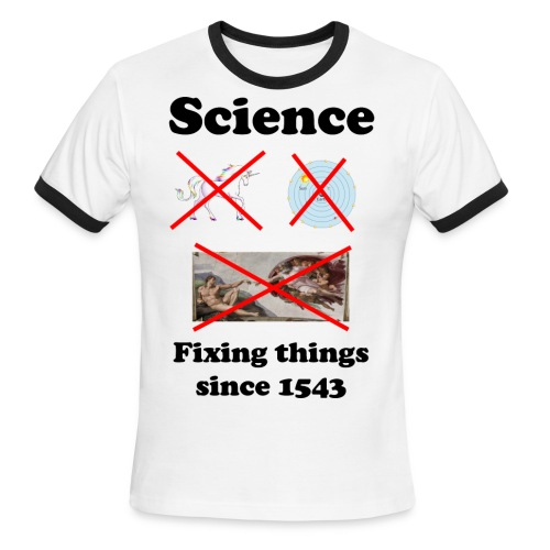 Science - fixing things since 1543 - Men's Ringer T-Shirt