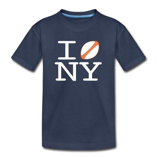 I rugbyball NY - KIDS w/ printed back - Kids' Premium T-Shirt