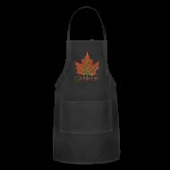Aprons ~ Adjustable Apron ~ Canada Aprons Beautiful Autumn Maple Leaf Souvenir Aprons