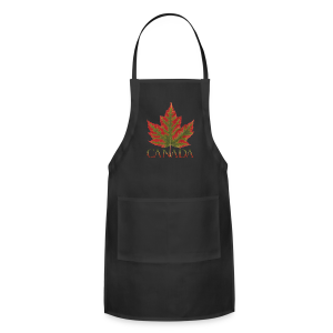 Canada Aprons Beautiful Autumn Maple Leaf Souvenir Aprons - Adjustable Apron