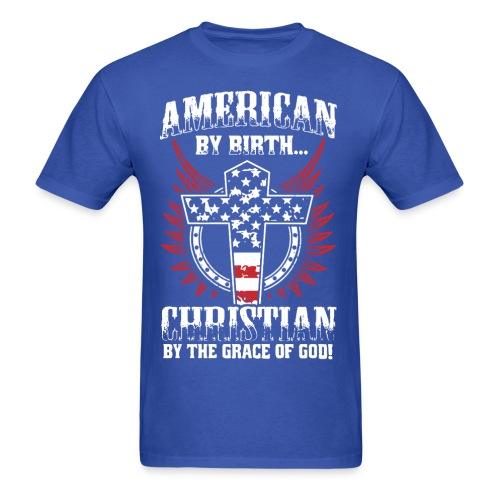 American Christian - Men's T-Shirt
