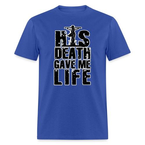 His Death - Men's T-Shirt