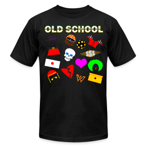 *Sz 3XL* -Old School In The Ring T-Shirt - Men's T-Shirt by American Apparel