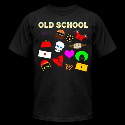 *Sz 3XL* -Old School In The Ring T-Shirt - Men's  Jersey T-Shirt