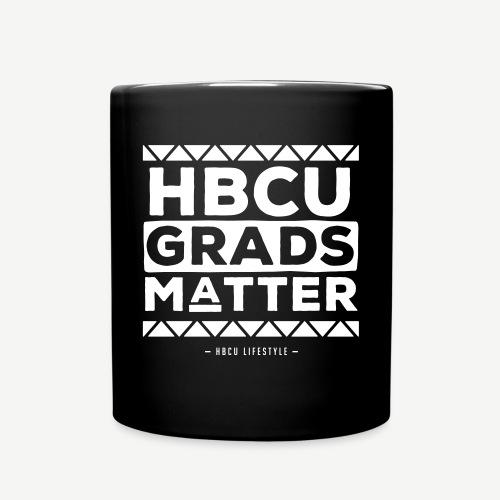 HBCU Grads Matter - Black and Ivory Mug - Full Color Mug