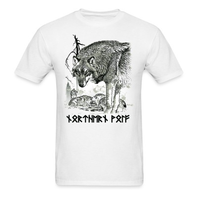 Northern Wolf - Men's T-Shirt