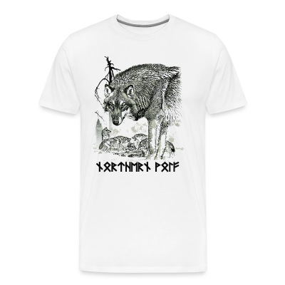 Northern Wolf - Men's Premium T-Shirt