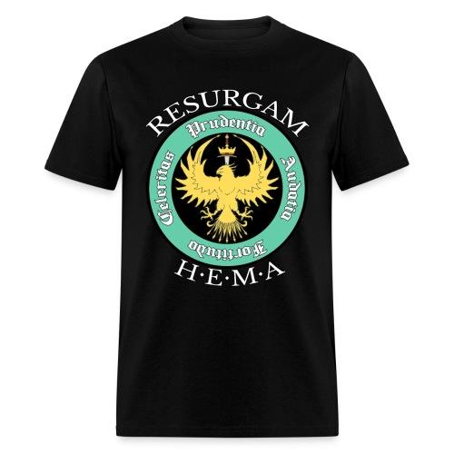 Resurgam HEMA Men's Tee - Black - Men's T-Shirt