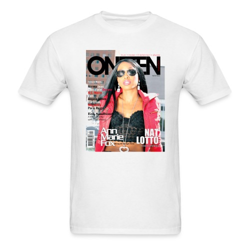 ONETEN Magazine Cover Ann Marie Fox Tee - Men's T-Shirt