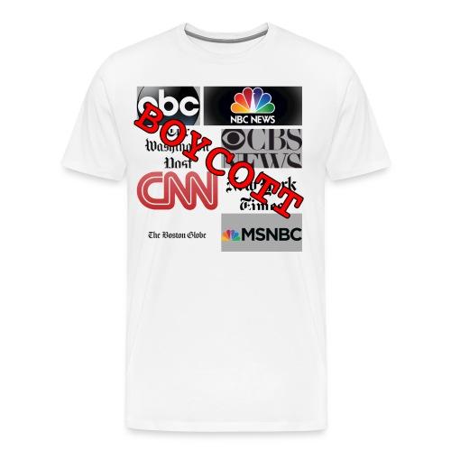 Boycott Media - Men's Premium T-Shirt