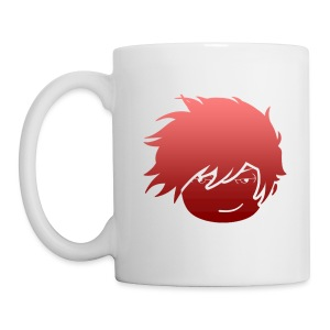 Whiskey Red Fade Mug (Right Side) - Coffee/Tea Mug