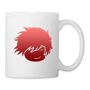 Whiskey Red Fade Mug (Left Side) - Coffee/Tea Mug