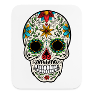Other ~ Mouse pad Vertical ~ Sugar Skull - Day of the Dead #4