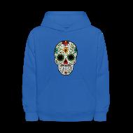 Sweatshirts ~ Kids' Hoodie ~ Sugar Skull - Day of the Dead #4