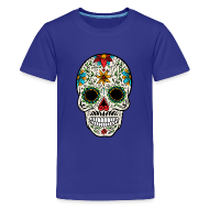 Kids' Shirts ~ Kids' Premium T-Shirt ~ Sugar Skull - Day of the Dead #4