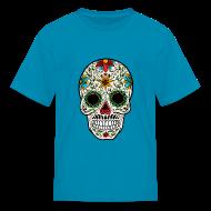 Kids' Shirts ~ Kids' T-Shirt ~ Sugar Skull - Day of the Dead #4