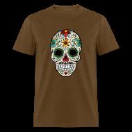 T-Shirts ~ Men's T-Shirt ~ Sugar Skull - Day of the Dead #4