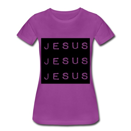 Woman Triple Jesus Tee - Women's Premium T-Shirt