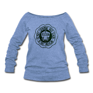 Long Sleeve Shirts ~ Women's Wideneck Sweatshirt ~ Detroit Cathedral High School
