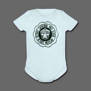 Detroit Cathedral High School - Short Sleeve Baby Bodysuit