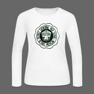 Detroit Cathedral High School - Women's Long Sleeve Jersey T-Shirt