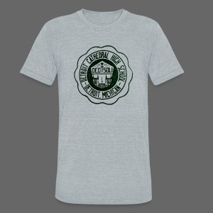 Detroit Cathedral High School - Unisex Tri-Blend T-Shirt