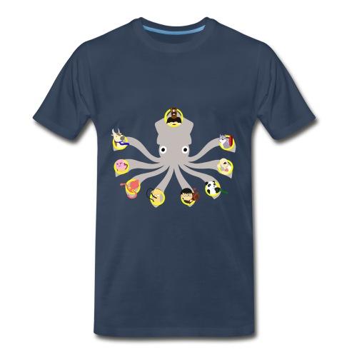 Twitch Squid Premium Men's - Men's Premium T-Shirt