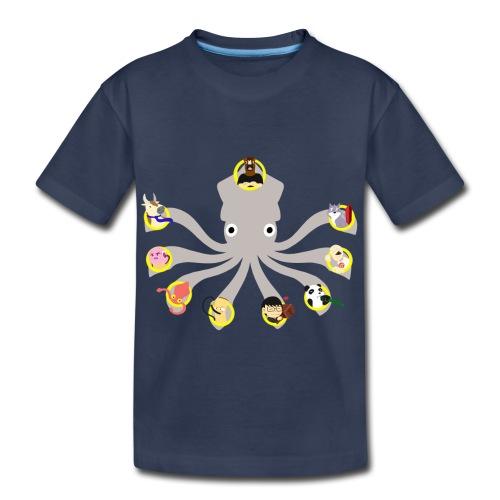 Twitch Squid Premium Kid's - Kids' Premium T-Shirt