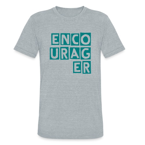 Encourager Unisex Tee - Unisex Tri-Blend T-Shirt