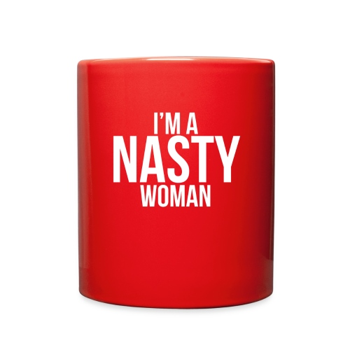I'm a Nasty Woman (red mug) - Full Color Mug