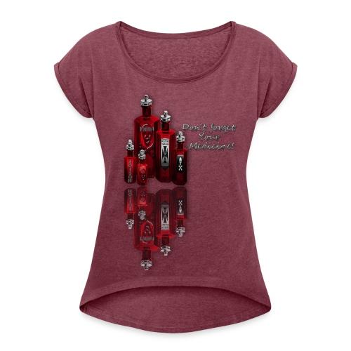 Poison - Women's Roll Cuff T-Shirt
