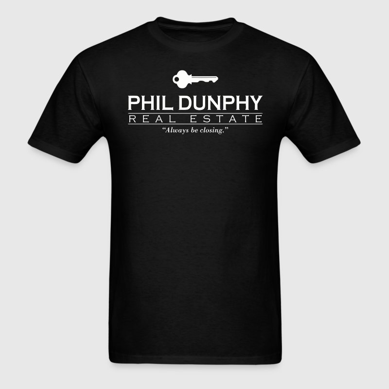 Phil Dunphy Real Estate T-Shirts - Men's T-Shirt