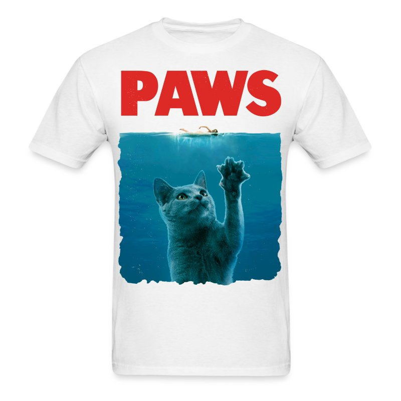 PAWS! - Men's T-Shirt