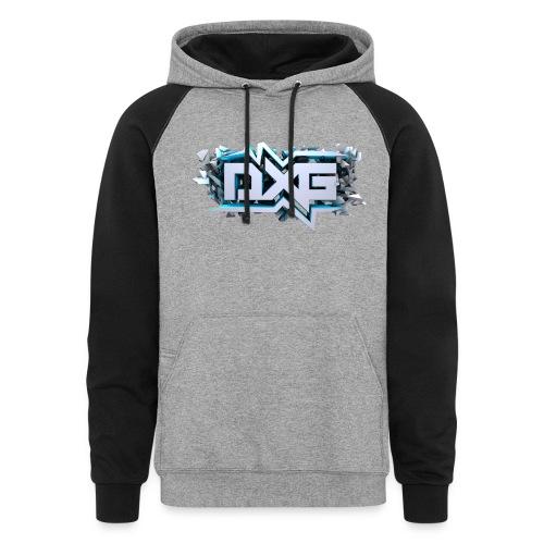 DragX Logo Hoodie - Colorblock Hoodie