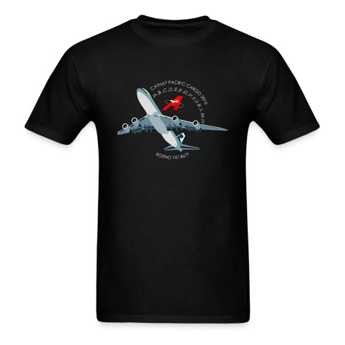 Cathay 747-8 Project Men's T-Shirt (Simple) - Men's T-Shirt