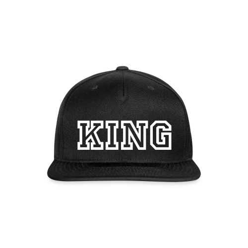 king cap - Snap-back Baseball Cap