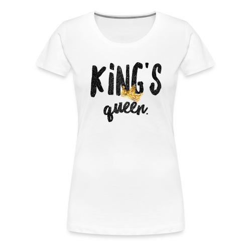 Kings Queen - Women's Premium T-Shirt