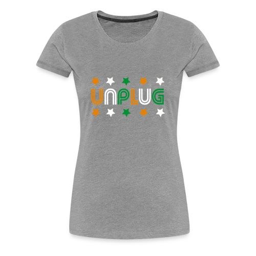 DDJ UNPLUG (Cote d'Ivoire Sisters) - Women's Premium T-Shirt