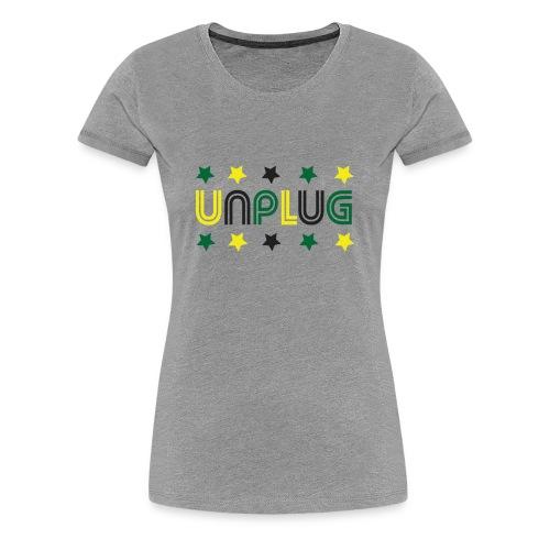DDJ UNPLUG (Jamaica Sisters) - Women's Premium T-Shirt