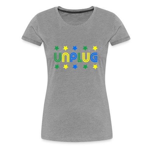 DDJ UNPLUG (Brazil Sisters) - Women's Premium T-Shirt