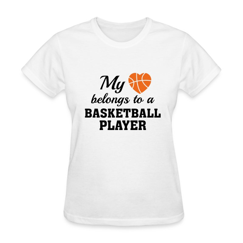 Heart Belongs Basketball T Shirt Spreadshirt