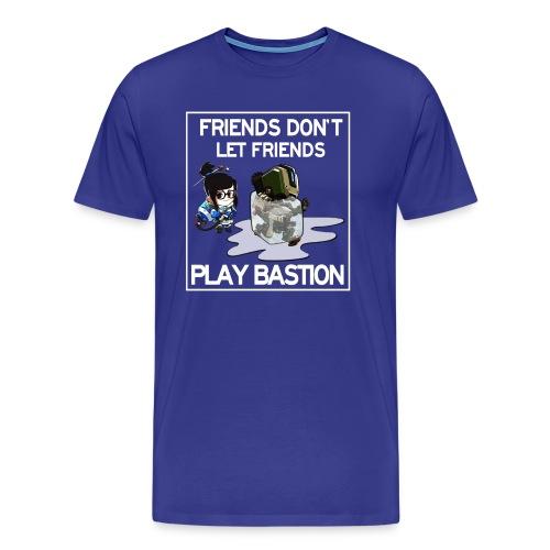 Friends Don't Let Friends Play Bastion (Men's) - Men's Premium T-Shirt